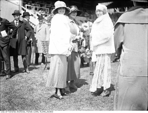 Ladies at Woodbine Racetrack - Toronto - 1924