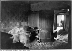 Slum Lodging House - Toronto - 1924